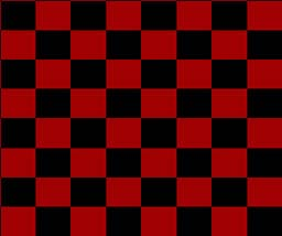 Figure 1: c) Red and black checkerboard used for visual stimulation
