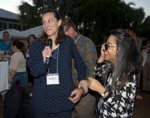 Jody Goldstein receives the Coordinator Mentor award from Jody Corey Bloom.