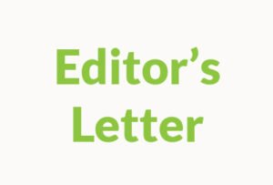 Editor's letter featured image